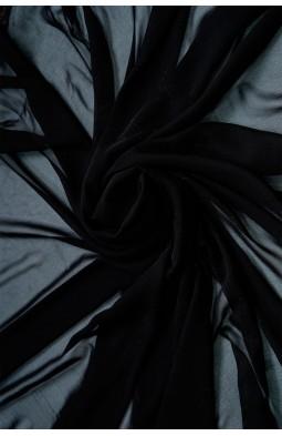 01777 Шифон Lot  A цв. 01 черный