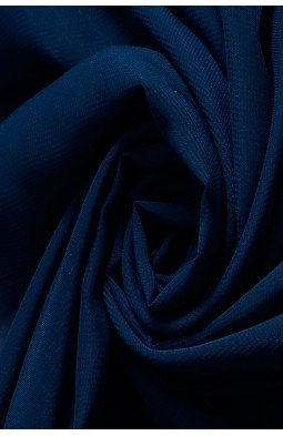 01777 Шифон Lot  A цв. 04 т. синий