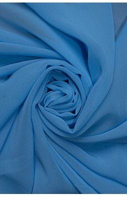 01777 Шифон Lot  A цв. 10 св. голубой