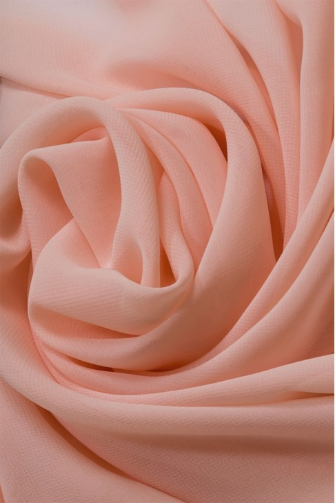 01777 Шифон Lot  A цв. 35 чайная роза