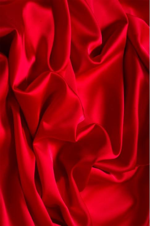 02091 Атлас цв. 28 красный