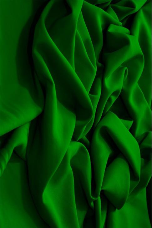 02072 Штапель цв. 23 т. зелёный