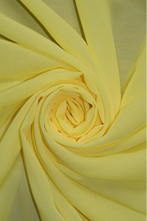 01777 Шифон Lot  A цв. 11 лимон