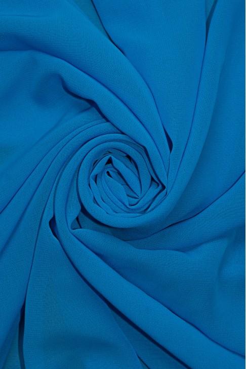 01777 Шифон Lot  A цв. 33 небесно  голубой