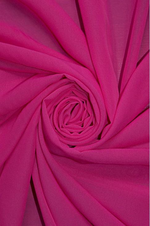 01777 Шифон Lot  A цв. 30 т. розовый