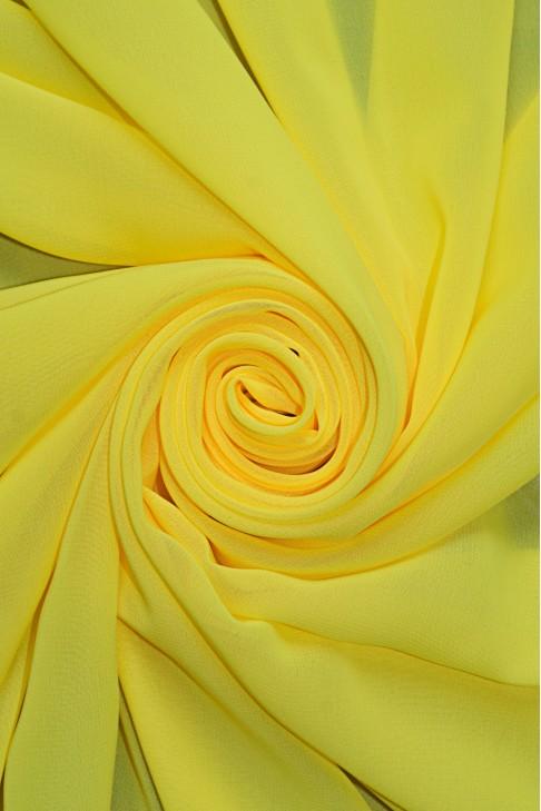 01777 Шифон Lot  A цв. 55 ультра желтый