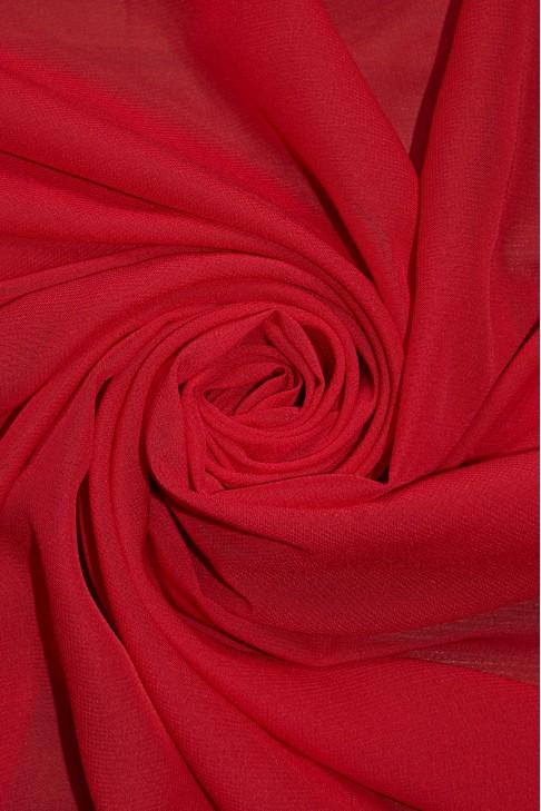 01777 Шифон Lot  B цв. 20 красный