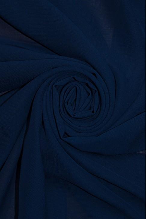 01777 Шифон Lot  B цв. 24 т синий