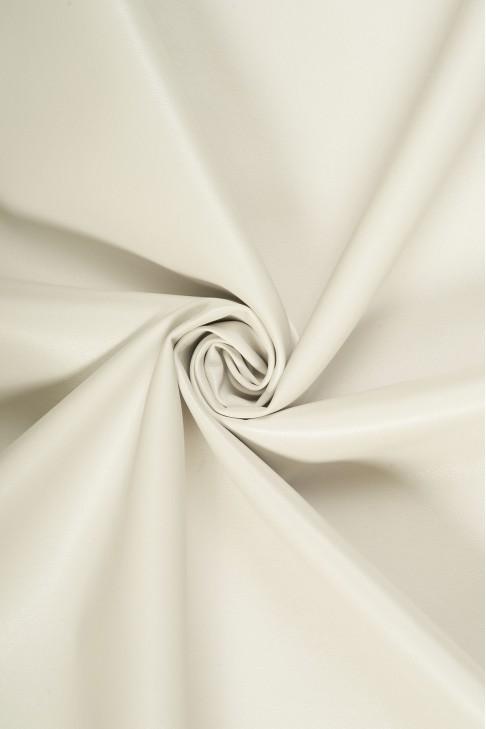 02069 Кожзам на хлопковой основе  цв. 02 белый