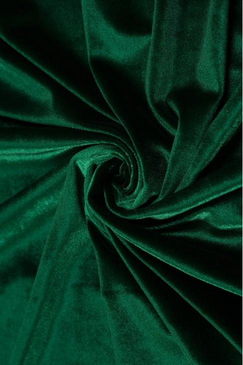 Бархат цв.05 бутылочный/т.зеленый