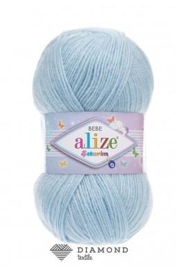 Шекерим беби цв. 183 небесно-голубой
