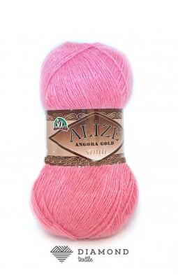 Ангора Голд Симли цв.39 розовый леденец