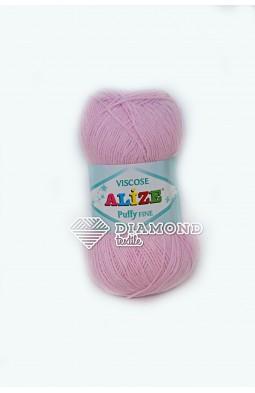 Пуффи Файн Вискоза цв.185 светло-розовый