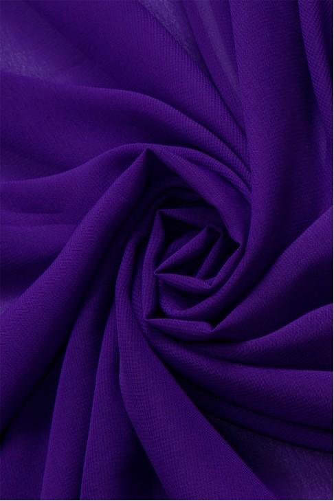 01777 Шифон Lot  B цв. 02 т. фиолетовый
