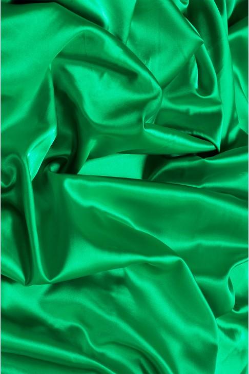 02086 Атлас цв. 45 зеленый