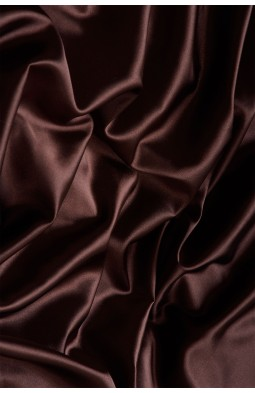 02086 Атлас цв. 13 коричневый