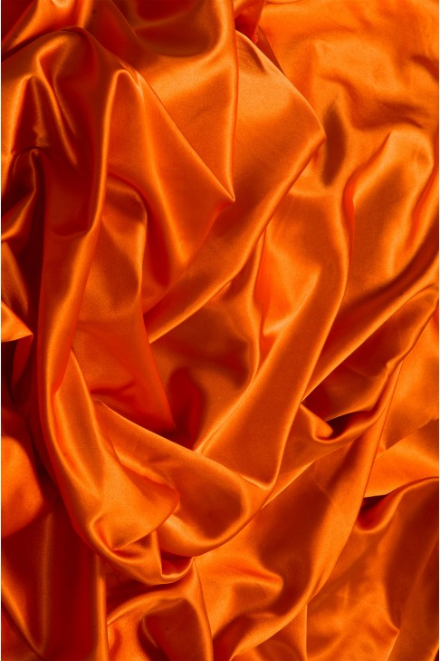 02086 Атлас цв. 28 оранжевый