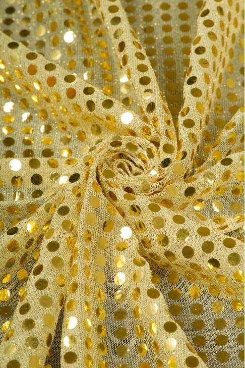 01518 Чешуя цв.03 золото