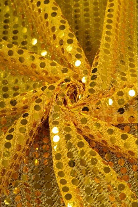 01518 Чешуя цв.06 желтый