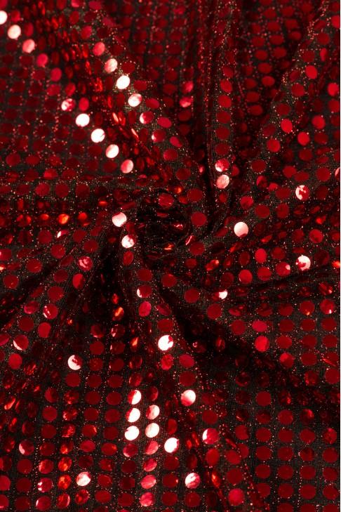 01518 Чешуя цв.25 красный + черный