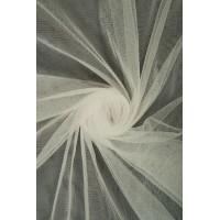 01659 Фатин мягкий цв.02 белый