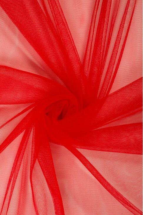 01659 Фатин мягкий цв.06 красный