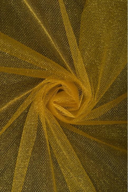 01060 Фатин с блеском цв.21 золото