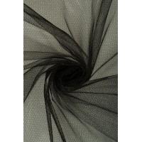 01680 Фатин жесткий цв.01 черный