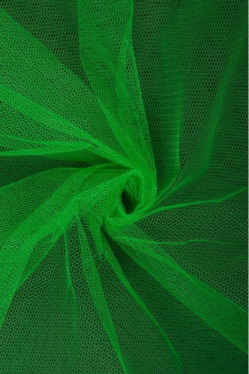 01680 Фатин жесткий цв.20 зеленый