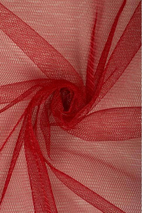 01680 Фатин жесткий цв.37 вишневый