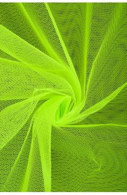 01680 Фатин жесткий цв.17 ультра - салатовый