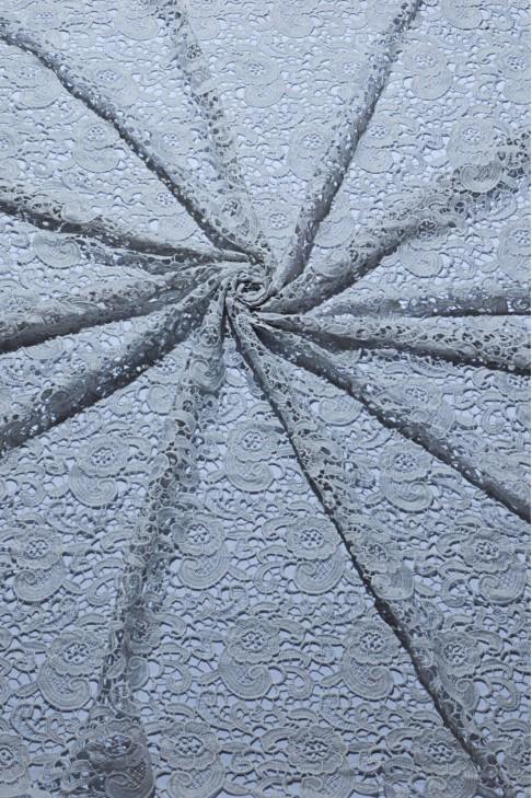 03020 Гипюр набивной цв.02 серый