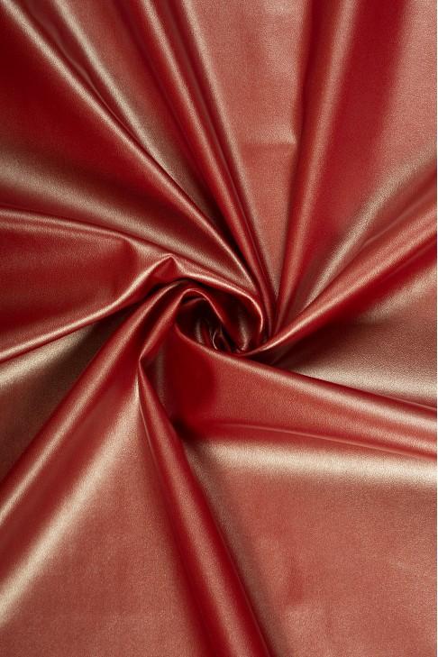 02047 Кожзам цв.19 красный + серебро