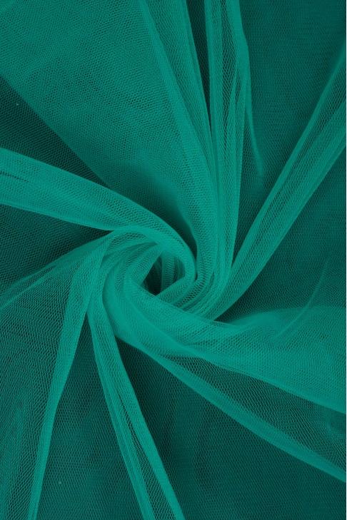 01659 Фатин мягкий цв.15 морская волна
