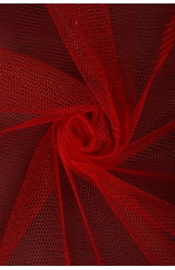 01680 Фатин жесткий цв.05 красный