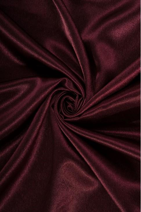 01026 Креп сатин цв.42 пурпурный