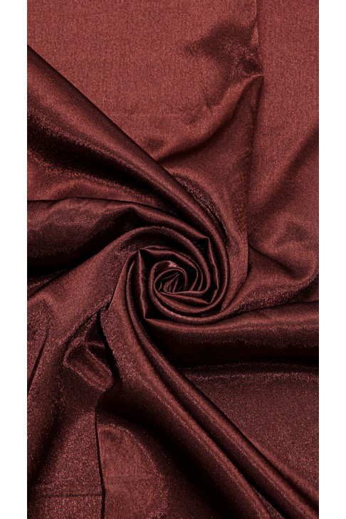 01026 Креп сатин цв.45 коричневый