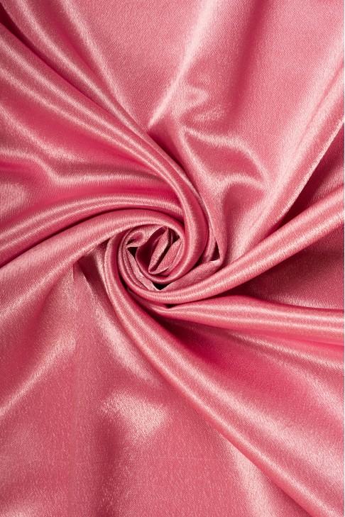 01026 Креп сатин цв.23 т.розовый