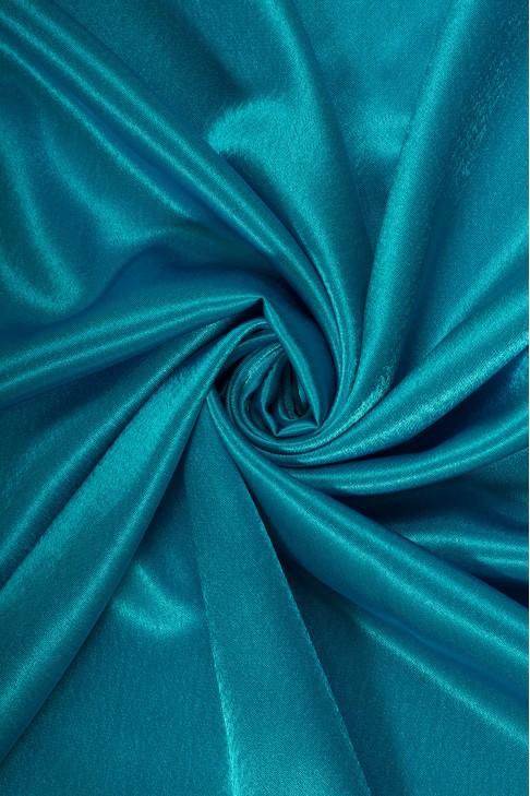 01026 Креп сатин цв.37 т.голубой