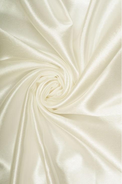 01026 Креп сатин цв.26 молочный