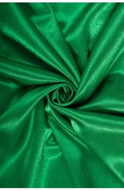 01026 Креп сатин цв.09 зеленый