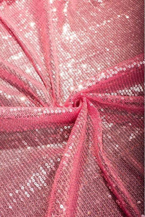 """03070 Гипюр """"Анджелина"""" цв.8 розовый"""