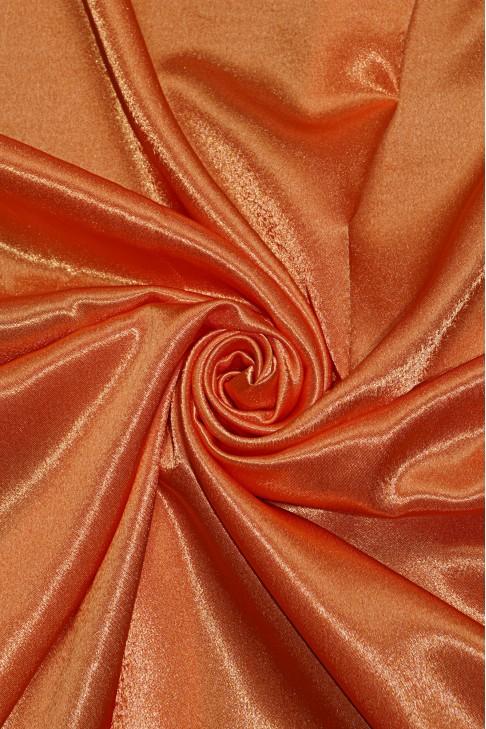 01026 Креп сатин цв.46 оранж