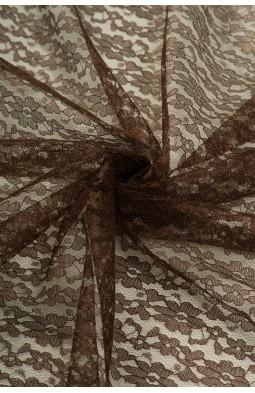 02454 Гипюр диз.01 цв.07 коричневый