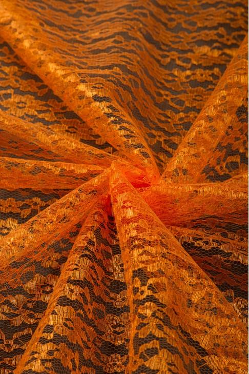 02454 Гипюр диз.01 цв.18 оранжевый