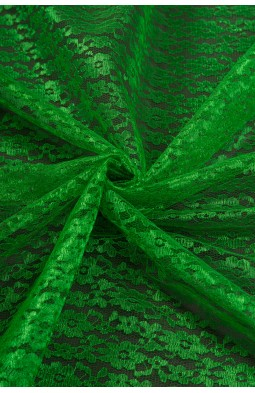 02454 Гипюр диз.01 цв.14 зеленый