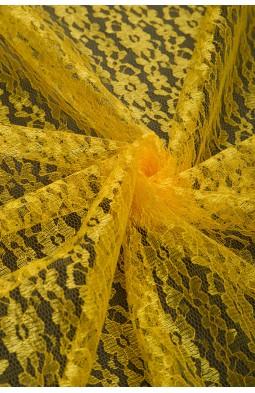 02454 Гипюр диз.01 цв.16 желтый