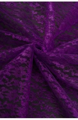 02454 Гипюр диз.01 цв.17 фиолетовый