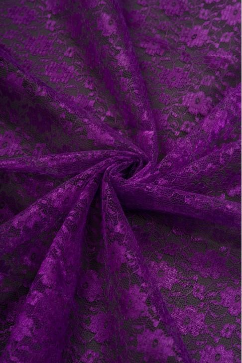 02454 Гипюр диз.02 цв.17 фиолетовый