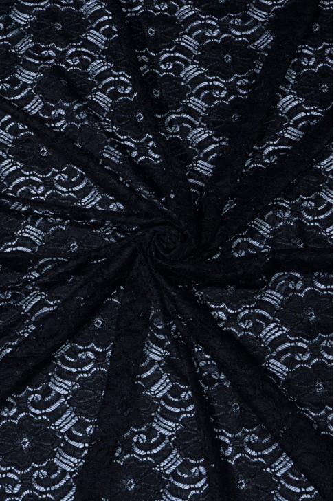 03045 Гипюр диз.01 цв.02 черный
